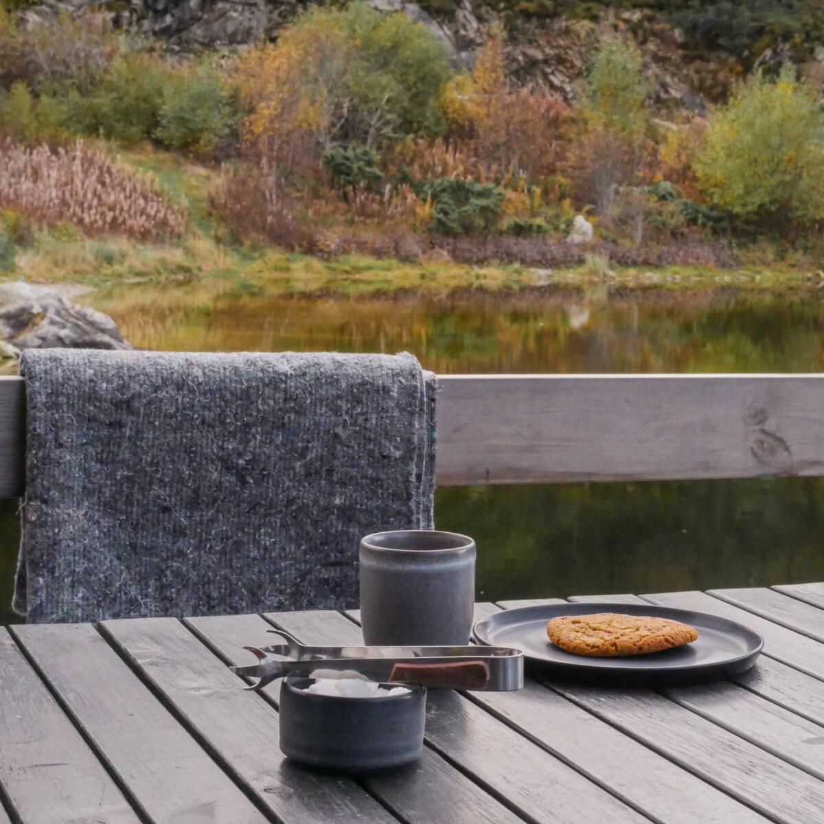 En kopp kaffe på PS Bryggekafé