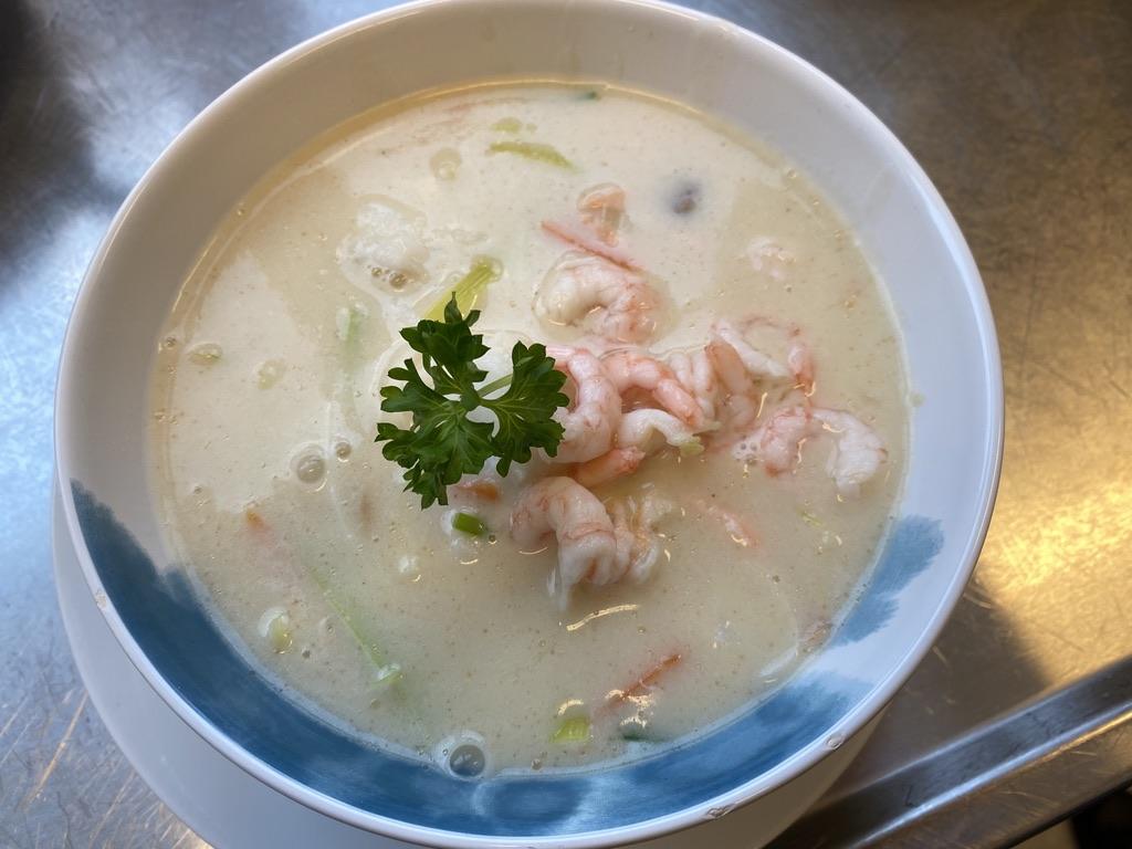 Fiskesuppe på PS Bryggekafé